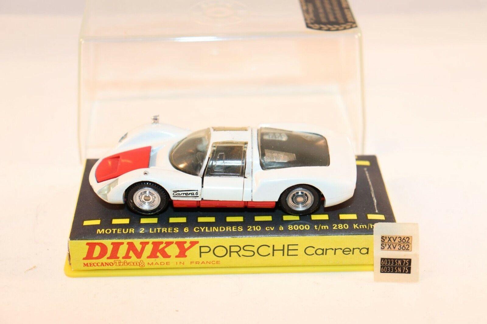 Dinky Toys 503 Porsche Carrera 6 very near mint in box