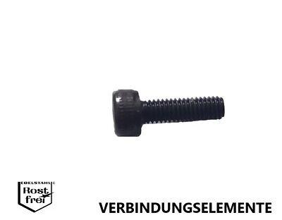 senkkopf Boulon tête cylindrique DIN 7991 a2 m2x12 Noir 25 st