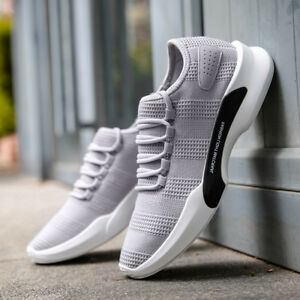 Grey-mens-and-boys-high-quality-sports-casual-shoes-brand-new