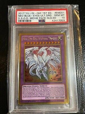Blue eyes ultimate dragon gold series misprint jabbing steroids in shoulder
