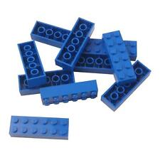4x Light used Condition Blue Grey Lego 2 x 6 Smooth Sloped Bricks S414