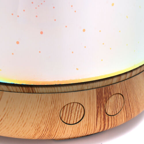 Details about  /3D Glass Light Essential Oil Aroma Diffuser Ultrasonic Humidifier