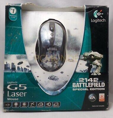 Battlefield 2142 Edition Logitech G5 Laser Gaming Mouse
