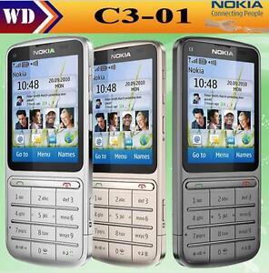 Details about Nokia C3-01 GPRS WIFI Bluetooth 5MP 3G English/Russian/Arabic  keyboard phone
