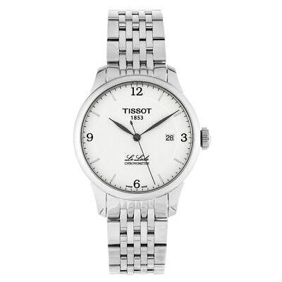 Tissot T0064081103700 T-Classic Le Locle Chronometre Men's Automatic Steel Watch
