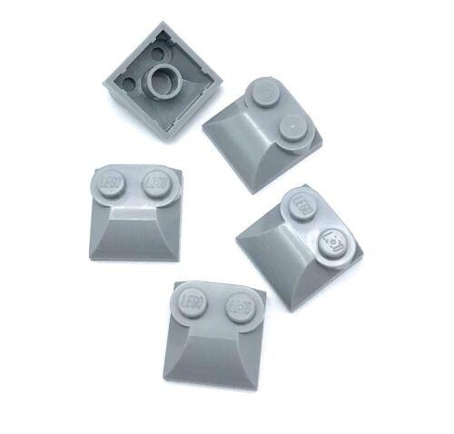 LEGO Bau- & Konstruktionsspielzeug Lego 5 New Hell Blau Grau Steine Modifiziert 2 X 2 X 2/3 Zwei Ohrstecker