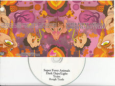 SUPER FURRY ANIMALS Dark Days Light Years UK 12-trk promo test CD colour sleeve