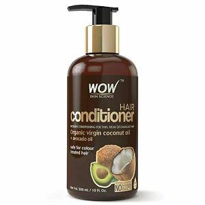 WOW Skin Science Coconut Oil & Avocado Oil Hair Conditioner 300ml
