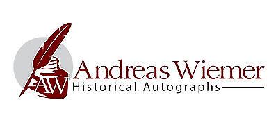 Wiemer Historical Autographs