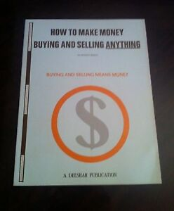 How To Make Money Buying And Selling Anything Harvey Brody Toll Position Course Ebay