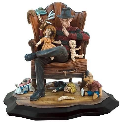 Gentle Giant Frossody Krueger Nightmare On Elm Street  Chair Statue NIB MINT  167  incentivi promozionali