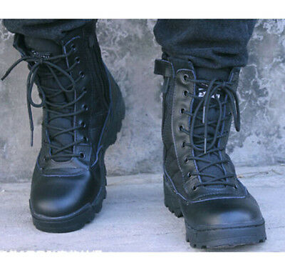 Fashion Mens Special Combat Military Boots Army Boot Tactical Combat Boots Shoes