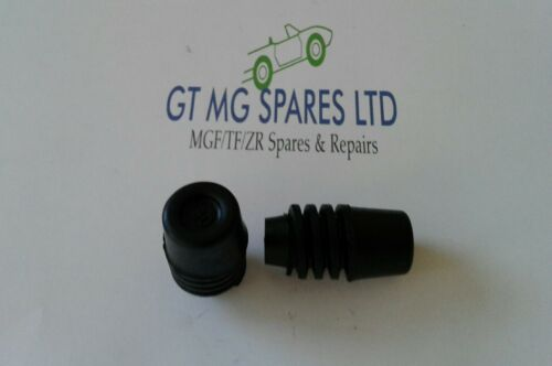 MGF MGTF IN GOMMA COFANO Puffer paracolpi x 2 cjm000060 NUOVO ORIGINALE GT MG Spares Ltd