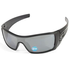 21fdb48bc0 Details about Oakley Batwolf OO9101-35 Matte Black Ink Black Iridium  Polarised Mens Sunglasses