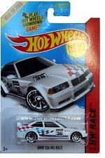 2014 Hot Wheels #169 HW Race Track Aces BMW E36 M3 Race white