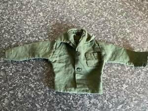 VINTAGE PALITOY/HASBRO ACTION MAN GREEN LONG SLEEVE SHIRT VGC FOR AGE