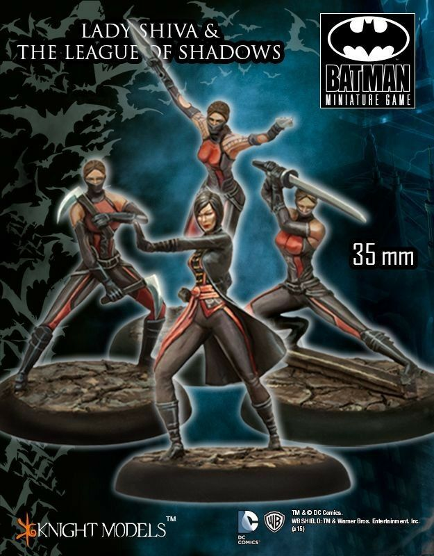 Femme Shiva And League Of Ombres 35mm Bathomme  Miniature Jeu Chevalier Models Dc  en ligne au meilleur prix