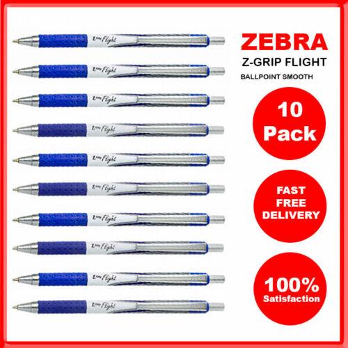 ZEBRA Z-GRIP FLIGHT Ballpoint Pen Pack of 1 to Pack of 40 1.2mm Ultra-smooth