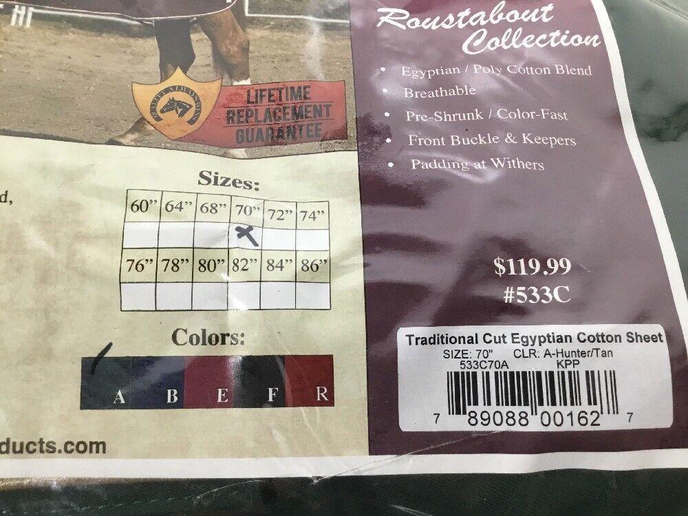 """NEW Kensington Roustabout Roustabout Kensington Taper Cut 533C-70A Show Sheet Cover; Größe: 70"""", Grün 02bc6f"""