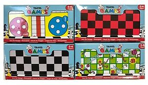 Kids Childrens Magnetic Mini Travel Board Games Family Fun Toy Party