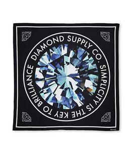 SIMPLICITY HANDKERCHIEF Black Diamond Scarf Or Tapestry Diamond Supply Co
