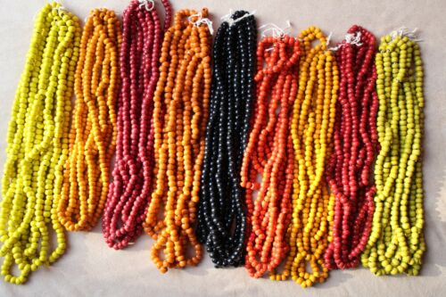 Indian Glass Beads String 35-40g New Bead Necklace Jewellery Free Post