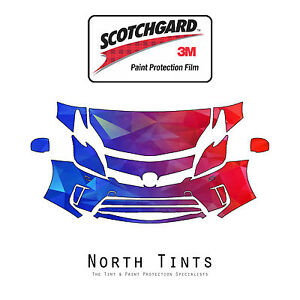 3M Scotchgard Paint Protection Film Clear Bra Pre-Cut Kit 2012-2014 Toyota Prius