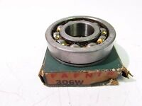 Fafnir 306wd Single Row Roller Bearing