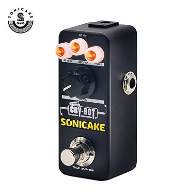 SONICAKE Guitar Pedal Cry-Bot Envelope Filter Auto Wah for Funk Bass and  Guitar | eBay
