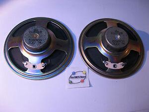 Speaker-Pair-Foster-C090K10-3-2-Ohm-1W-3-5-8-Dia-CO90K10-Used