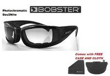 Bobster BINV101 Invader Sunglass-Black Frame-Photochromic Lens