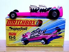 Matchbox Lesney No.64c Slingshot Dragster In Type 'H1' Box (PINK VERY NEAR MINT)