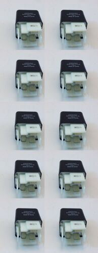 DENSO 10 PACK SPST PLUG-IN RELAY 12V 30AMP HEAVY DUTY # Z086700-7418-10PK