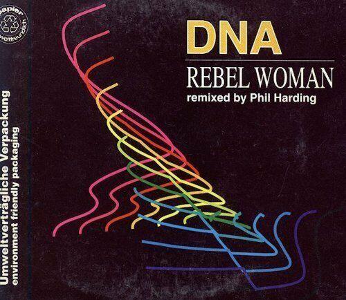 DNA [Maxi-CD] Rebel woman (1991, #zyx6573)
