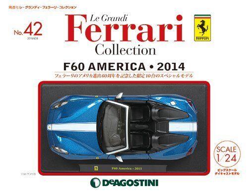 DeAGOSTINI Le Grandi Ferrari collection No.42 1 24 F60 America 2014