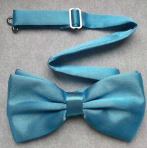 Bow Tie Mens NEW Bowtie Adjustable Dickie SKY BLUE