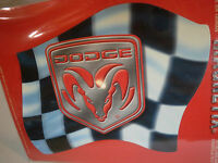 Dodge Ram Magnet By Magnetix Checkered Flag Mopar Charger Challenger Muscle Car