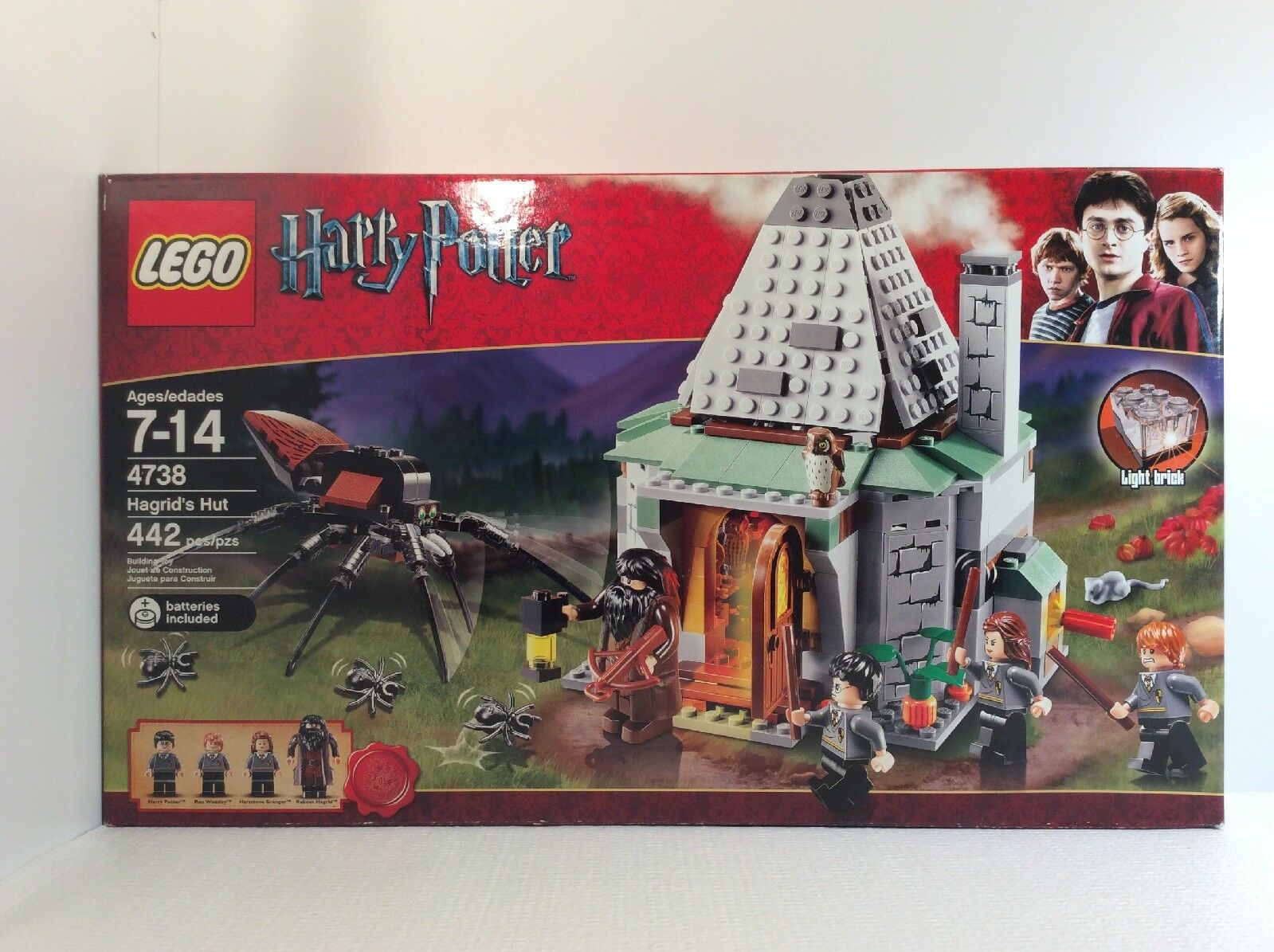 LEGO Harry Potter 4738 Hagrid's Hut New In Box, Free Shipping