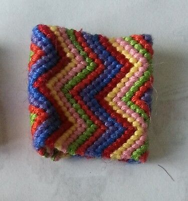 Dreadlock cuff band bead wrap. Knotted sleeve. Hippy rasta dreads accessories.