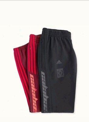 YEEZY CALABASAS TRACK PANTS MAROON BLACK set of 2 sz XL limited order confirmed | eBay