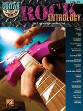 Guitar Play-along: Rock Anthology Vol. 81 (2008, CD / Paperback)