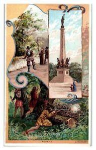 Indiana, La Salle, Tippecanoe, Arbuckles Coffee Victorian Trade Card *VT30(2)4