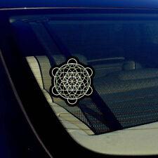 """Merkaba Leaf Sacred Geometry Kabbalah Math Wicca Magic Decal Sticker 3.75"""""""