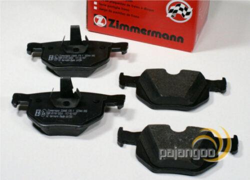 BMW X5 E70 Zimmermann Bremsklötze Bremsen Bremsbeläge für vorne hinten