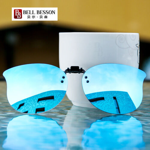 Women/'s Clip-on Sunglasses Polarized Flip up Cat Eye Glasses Driving for Ladies