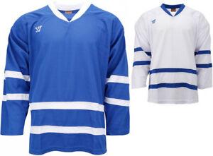 811921548 Image is loading Warrior-KH130-Hockey-Jersey-Toronto-Maple-Leafs-Sr