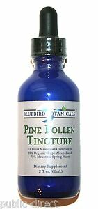 pine pollen tincture how to make