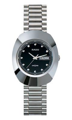 New Rado The Original DiaStar Stainless Steel Black Dial Men's Watch R12391153    eBay