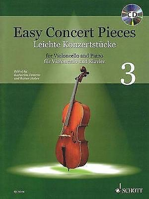 Easy Concert Pieces: Cello and Piano: 1 by Schott Music Ltd (Mixed media...