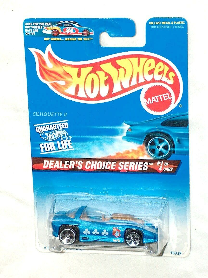 MINT 1996 COLLECTOR HOT WHEELS COLLECTOR 1996  565 SILHOUETTE II DEALER'S CHOICE CAR SERIES  1 cc7f55